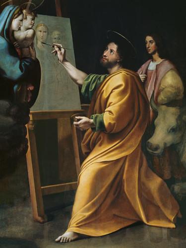 St Luc peignant la Vierge 529471934_822f8db93d