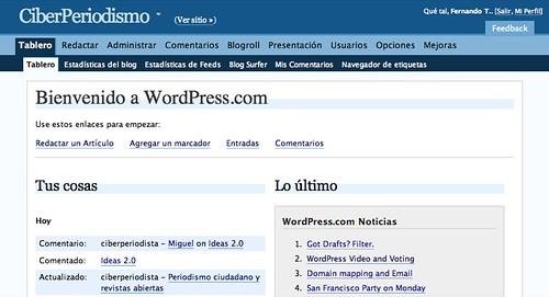 WordPress 2.3 incorporará importantes mejoras