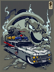 Ghostbusters (nelsondaniel) Tags: auto art comics fan tv los comic arte films daniel illustrations nelson fanart heroes universe dibujos ghostbusters juguetes monstruos animados fantasmas ilustrador ilustraciones ecto cazafantasmas ectoplasma