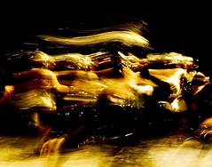 Dancing away (BPJoe) Tags: ballet abstract girl beauty dark ballerina candles shadows dancers dancing action corpuschristi young moo folklorico pyromaniac frenetic papajoe bpjoe