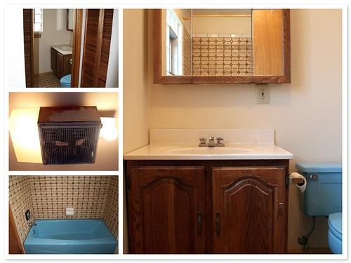 The 2nd floor bathroom