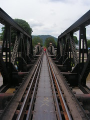 Bridge over the River Kwai (Vincent Teeuwen) Tags: river thailand kanchanaburi kwai