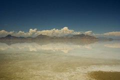 Salt Flat Reflection - by CCNZ