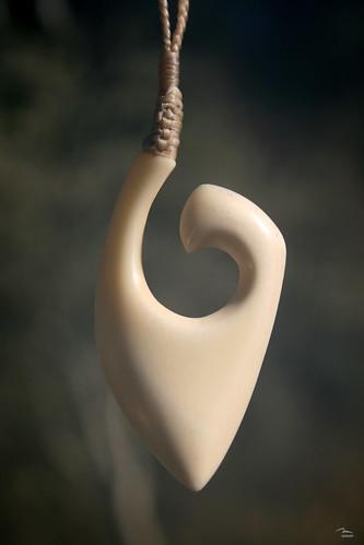 Bone Carving - Hei Matau
