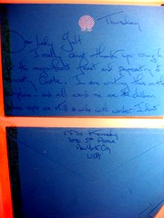 Letter from Jackie Kennedy