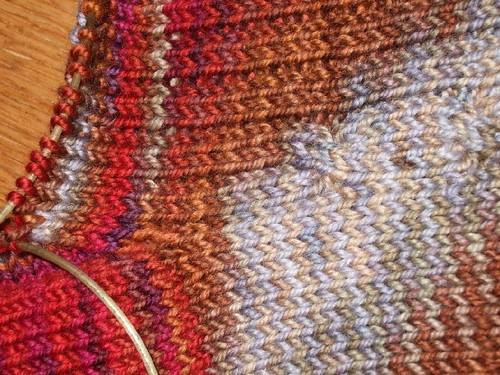 Cable Rib Socks (2)