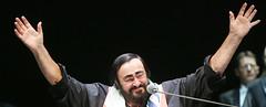 Pavarotti ovacionado