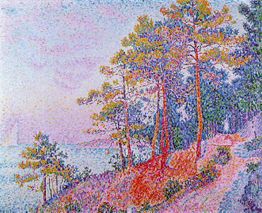 Saint-Tropez, The Customs House by Paul Signac