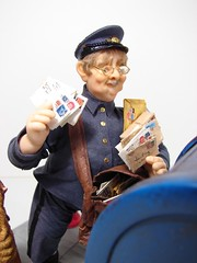 Mailman 1:12 Scale Miniature Doll
