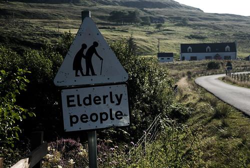 Peligro: Ancianos.