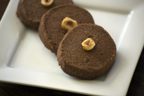 Chocolate Hazelnut Sandies