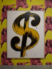 Andy Warhol - Dollar Sign (Tate Modern London)
