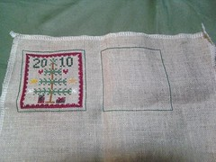 Pocketful of Peppermints ornie - finished 15 Nov 2010