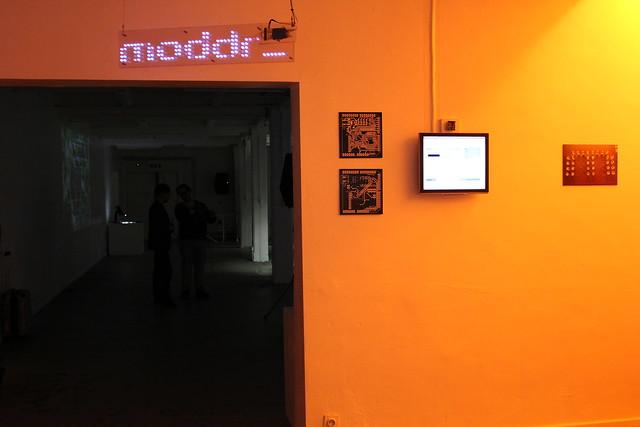 moddr_ opening (iMAL.org)