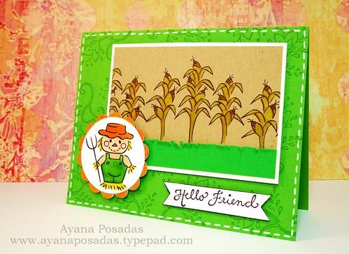 Scarecrow Card (2)