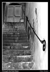 Through The Past Door (Mariolumix) Tags: door bw stairs oneofakind bn porta past coolest shiningstar anawesomeshot bwaward wowiekazowie ysplix flickrelite beautifullcapture mariolumix uasigruosss