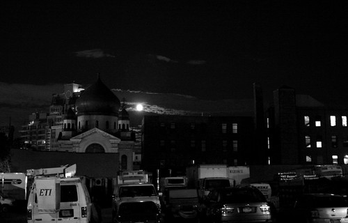 Moon over Williamsburg
