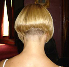 Women With Clippered Nape Haircuts http://ronbrown.girlshopes.com/clipperednapewomenshaircuts/