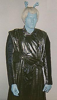 Andorian mannequin torso