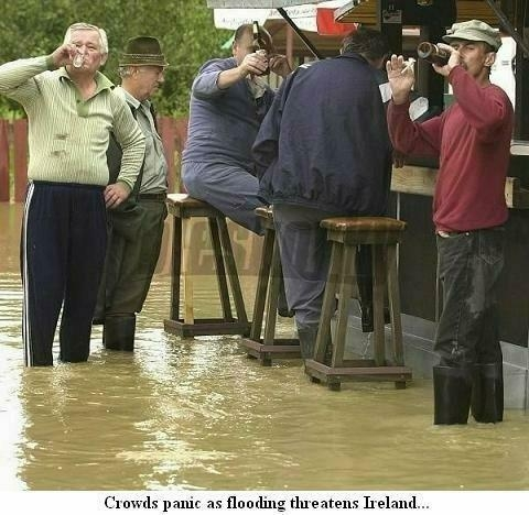 Irish Flooding
