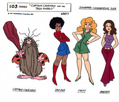 Captain Caveman and the Teen Angels Cartoon