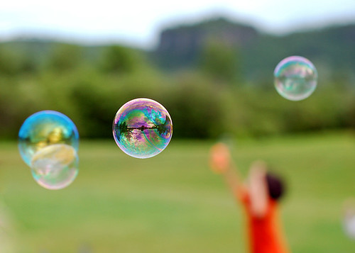 Chasing Bubbles by istargazer, on Flickr