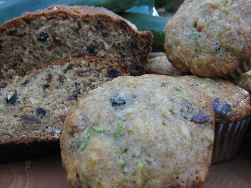 Coconut Zucchini Bread & Muffins