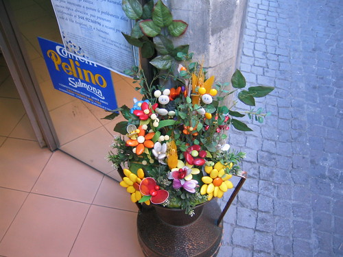 In Sulmona, Abruzzo, famous for this candy called confetti