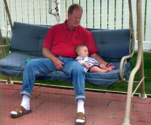 hangin' w/ grandpa