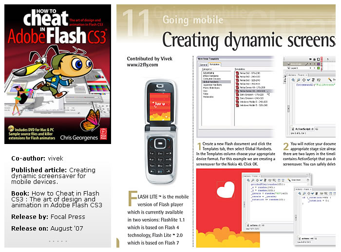 The art of design and animation in Adobe Flash CS3 1128692679_f8ea9b8684_o