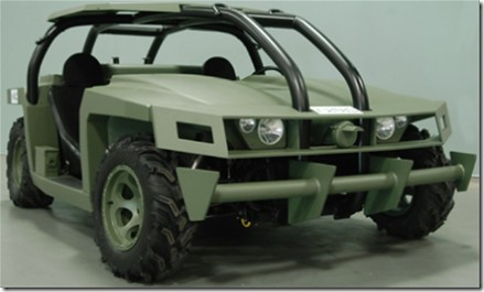 US Army AMV Agressor Prototype