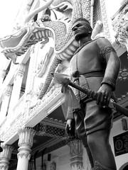 Thai Guard at Kanchanaburi (soham_pablo) Tags: thailand kanchanaburi kwai