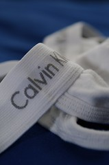 Floss (TerryJohnston) Tags: white macro fashion underwear label gstring theme monday brand challenge calvinklein macromondays macromonday fastenbind thingsthatfastenbind omgijusttookapictureofmygstringfortheinternets