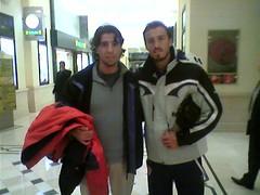 Con Antonio Puerta