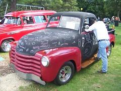 Chalkboard truck! - by Northfield.org