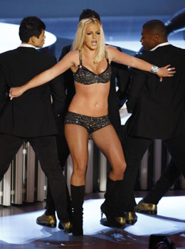 Dancing Britney Spear