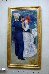 Paris - Muse d'Orsay: Pierre-Auguste Renoir's Danse  la campagne (wallyg) Tags: paris france art museum painting europe muse impressionism orsay impressionist museedorsay dorsay renoir musedorsay pierreaugusterenoir orsaymuseum frenchimpressionism frenchimpressionist danselacampagne danceinthecountryside
