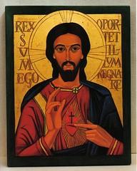 Herz Jesu Ikone