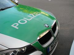 BMW Polizeiauto