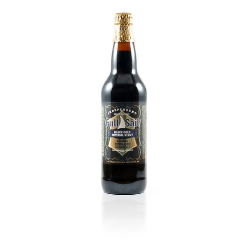 Black Gold Bourbon Barrel Aged Imperial Stout, Full Sail Brewing Co.