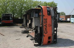 CHASE 14 (ABA27T) CHASETOWN 110506 (David Beardmore) Tags: national derelict leyland gmbuses aba27t chaseofchasetown