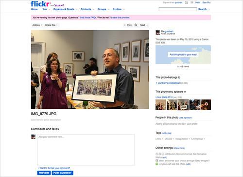 Flickr agrandit son format standard