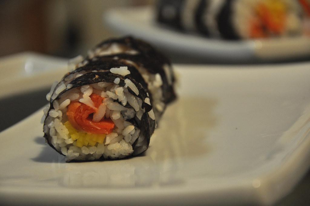 smoked salmon & mango