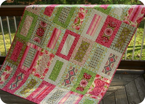 Ginger Blossom Quilt for { Modern } Relief