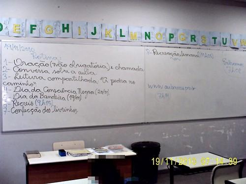 Rotina Prevista - e cumprida (19/11/2010)