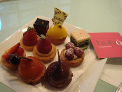 Petit Fours Selection At Bubo