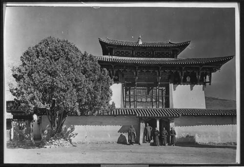 Yongning temple, 1922