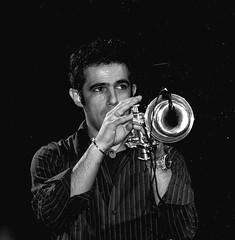 "paolo fresu "" ispetaculos de sardinia""paris cun kocani orkestra (nadia cadeddu) Tags: bw paolo jazz fresu"