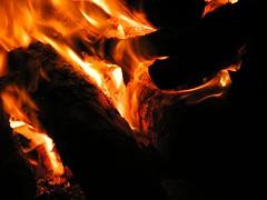 Bonfire (Soul101) Tags: wood red orange night dark fire flame burn bonfire heat blueribbonwinner aplusphoto