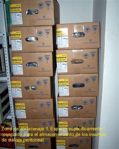 Zona de almacenaje 1